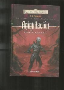 ANIQUILACION.  LA GUERRA DE LA REINA ARAÑA, LIBRO 5 - ATHANS, PHILIP (10,00€)